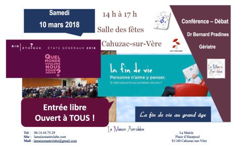 Conférence 10 mars 2018