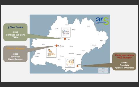 3 projets région Occitanie