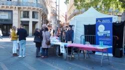 Début de la journée mondiale Soins Palliatifs à Toulouse