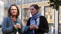 Françoise Ellien et Emmanuelle May