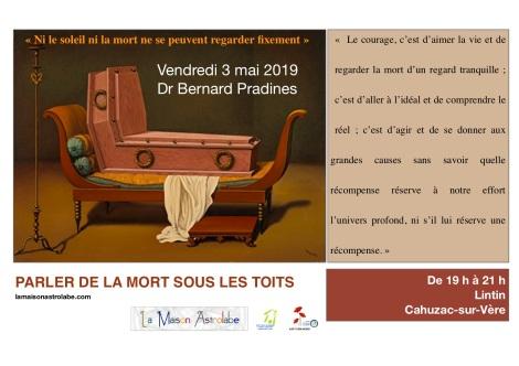 3 mai 2019 Parler de la mort sous les toits